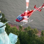 VIDEO – lot helikopterem nad Manhattanem